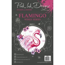 Pink Ink Designs A5 Clear Stamp - Flamingo