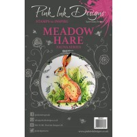 Pink Ink Designs A5 Clear Stamp - Meadow Hare