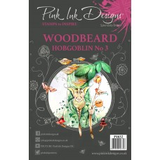 Pink Ink Designs A5 Clear Stamp - Woodbeard Hobgoblin 3