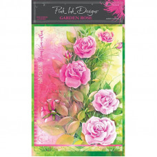 Pink Ink Designs - A4 Rice Paper - Garden Rose