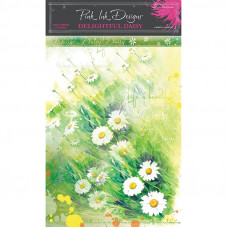 Pink Ink Designs - A4 Rice Paper - Delightful Daisy