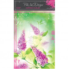 Pink Ink Designs - A4 Rice Paper - Lovely Lilac