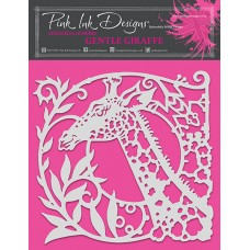 Pink Ink Designs - Gentle Giraffe Stencil