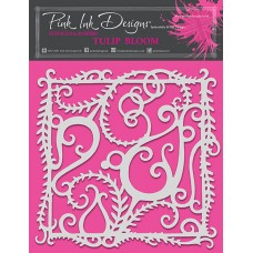 Pink Ink Designs - Tulip Bloom Stencil