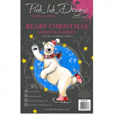 Pink Ink Designs - Beary Christmas - A5 Clear Stamp