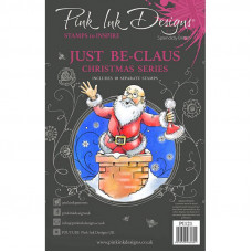 Pink Ink Designs - Just Be-claus - A5 Clear Stamp