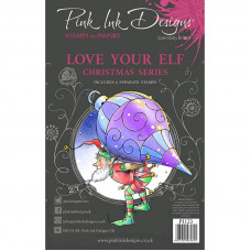 Pink Ink Designs - Love Your Elf - A5 Clear Stamp