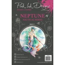 Pink Ink Designs A5 Clear Stamp - Neptune