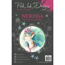 Pink Ink Designs A5 Clear Stamp - Nerissa