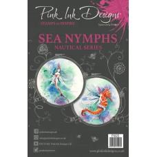 Pink Ink Designs Clear Stamp - Sea Nymphs