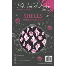 Pink Ink Designs A5 Clear Stamp - Shells