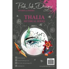 Pink Ink Designs A5 Clear Stamp - Thalia