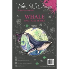 Pink Ink Designs A5 Clear Stamp - Whale