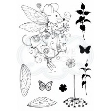 Pink Ink Designs A6 Clear Stamp Set - Fairy Mouse - DISPATCHING THURSDAY 29th AUGUST