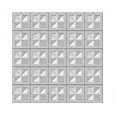 Presscut 3D Embossing Folder - Quilted Blocks - DISPATCHING WEDNESDAY 23rd SEPTEMBER