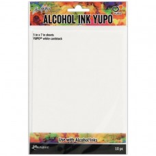 Alcohol Ink Gloss Cardstock