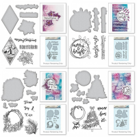 Spellbinders Stamp & Die Bundle