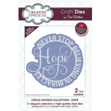 January Collection - Circle Sayings - Hope