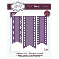 January Collection - Frames and Tags - Decorative Flags