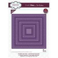 January Collection - Frames and Tags - Decorative Squares