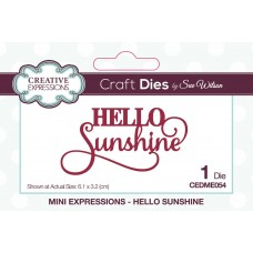 January Collection - Mini Expressions - Hello Sunshine