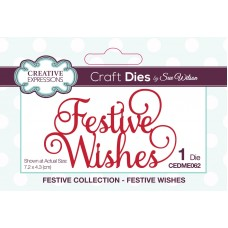 Sue Wilson - 2020 Festive Collection – Festive Wishes