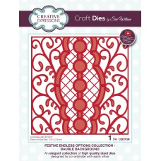Sue Wilson - 2020 Festive Collection – Endless Options Bauble Background