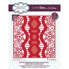 Sue Wilson - 2020 Festive Collection – Endless Options Jewelled Background