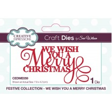 Sue Wilson - 2020 Festive Collection – We Wish You A Merry Christmas