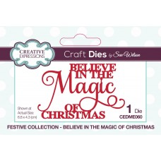 Sue Wilson - 2020 Festive Collection – Believe In The Magic Of Christmas