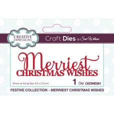 Sue Wilson - 2020 Festive Collection – Merriest Christmas Wishes