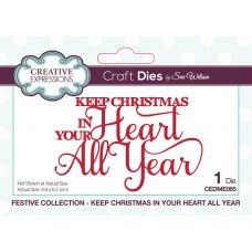Sue Wilson - 2020 Festive Collection – Keep Christmas In Your Heart All Year