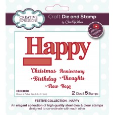 Sue Wilson - 2020 Festive Collection – Happy