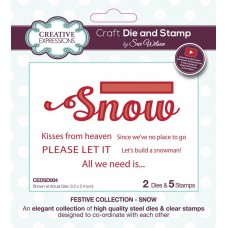 Sue Wilson - 2020 Festive Collection – Snow