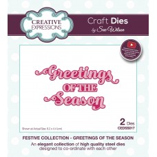 Sue Wilson - 2020 Festive Collection – Greetings of the Season