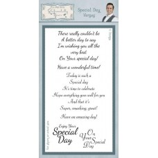 Special Day Verses Clear Stamp Set