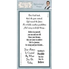 Motivational Verses Clear Stamp Set