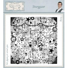 Square Collage Stamp - Stargazer