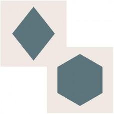 Sentimentally Yours 6 x 6 Aperture Stencils - Hexagon/Diamond