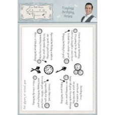 Timeless Birthday Verses Clear Stamp Set