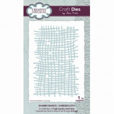 Sam Poole - Shabby Basics Cheesecloth Craft Die