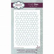 Sam Poole - Shabby Basics Rustic Honeycomb Craft Die