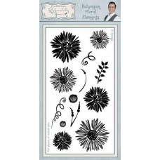 Bohemian Floral Elements DL Clear Stamp