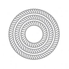 Spellbinders - Elegant Twist Circles Etched Dies