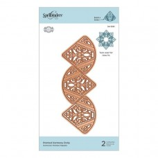 Spellbinders - Pointed Harmony Doily Etched Die