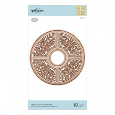 Spellbinders - Filigree Drop in Circlet Doily Etched Die