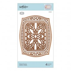 Spellbinders - Flourished Fretwork - Fluted Tracery Etched Die - PRE ORDER 3 - 5 DAYS