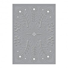 Spellbinder Cut & Emboss Folder Floral Splash