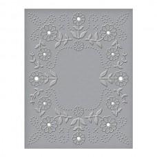 Spellbinder Cut & Emboss Folder Floral Reflections