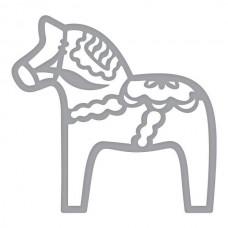 Spellbinders Die Dala Horse